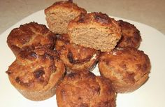 and bon appetite !: Muffins with tahini and honey Vegetarian Recipes, Cooking Recipes, Greek Recipes, Tahini, Sweet Bread, Bon Appetit, Delicious Desserts, French Toast, Muffins