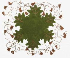 """Tapis """"Big leaf"""" de Matali Crasset"""