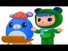 Rubi And Yoyo Animated | Ice Lo Skating Chesdham | Rubi And Yoyo Funny Cartoon Series - YouTube