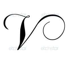 Letter v hearts 292 digital download alphabet initial name glyph gallery for v letter design tattoo thecheapjerseys Choice Image