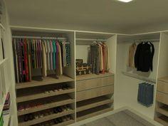 Suíte Casal com Closet - Apartamento Residencial Condomínio Ed. Vista Del Mare