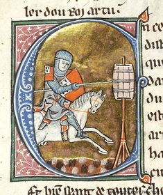 Lancelot du Lac, MS M.805 fol. 34v - Images from Medieval and Renaissance Manuscripts - The Morgan Library & Museum