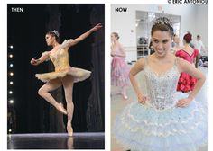 Before and After:  The old Dew Drop and the new version with the tutu I made!    The Nutcracker: Building a better mousetrap? - Dance