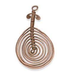 Alexander Calder, Untitled (spiral pendant)