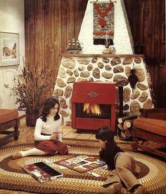 A Decoração Marrom dos Anos 70 - Nostalgiarama