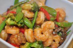 Sesame Shrimp Stir Fry   Meg's Everyday Indulgence