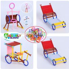 Plastic Rods Building Blocks Bricks DIY Assembling Classic Early Educational Learning Kid Toys-in Blocks from Toys & Hobbies on Aliexpress.com   Alibaba Group
