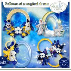 Softness of a magical dream clusters