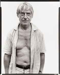 Happy birthday, Willem de Kooning! (photo by Richard Avedon, 1969)