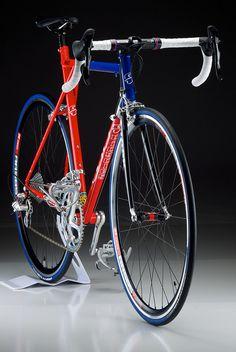 GT is so fast. | Steel Handmade GT Nat'l Team Frame ala Jenn… | Flickr