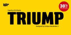 Triump - Webfont & Desktop font « MyFonts