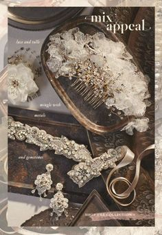 Beautiful wedding hair accessories http://rstyle.me/n/gjx79nyg6