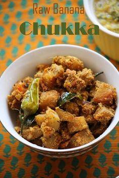 Banana Recipes Indian, Indian Food Recipes, Kerala Recipes, Ethnic Recipes, Vegetarian Cooking, Vegetarian Recipes, Rice And Gravy, Tiffin Recipe, Raw Banana