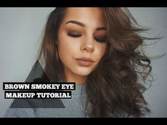 Brown Smokey Eye | All Drugstore Makeup With New Products - YouTube