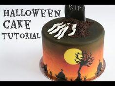 Halloween Cake in Collaboration with SugarCoder- Rosie's Dessert Spot - YouTube