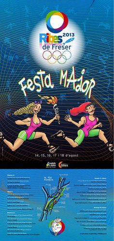 Cartell - Festa Major 2013 de Ribes de Freser