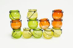 Daily-9/25. Clear Color Glass Candle Lanterns Giveaway