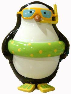 Penguin Toothbrush Holder