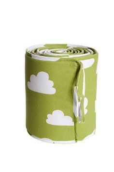 Farg Form Bumper with Cloud Print (Green) Clouds