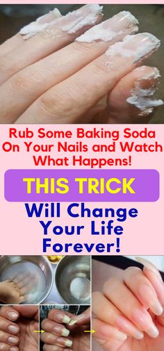 Baking soda you can use this powerful ingredient for almost everything. Baking soda or sodium bicarbonate is extremely cheap but a very powerful ingredient. This ingredient can be used to fight colds and even cancer. Health Tips For Women, Health Advice, Health And Beauty, Health Care, Baking Soda Nails, Baking Soda Shampoo, Dry Shampoo, Clarifying Shampoo, Recipe With Baking Soda