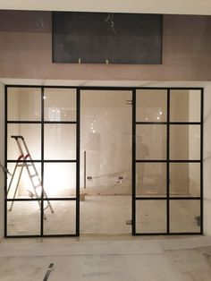 Glass Partition Designs, Glass Partition Wall, Glass Wall Design, Glass Room Divider, Schönheitssalon Design, House Design, Design Ideas, Office Interior Design, Office Interiors