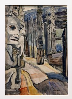 Read about the latest events, happenings, and stories in the city of Calgary & Alberta. Emily Carr Paintings, Vancouver Art Gallery, Odilon Redon, Group Of Seven, Totem Poles, Art Things, Canadian Artists, Native Art, Calgary
