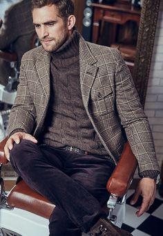 Модный образ 12 - Barber Shop - Men - AW 15/16 - Россия/Russia