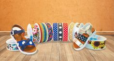 Printed Shoes Elastic