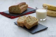 il plumcake all'avena e banane un dolce semplco e leggero, senza uova e burro, perfetto per la prima colazione o una golosa merenda.