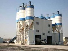 Concrete batching plant adopts twin-shaft compulsory mixer, producing homogeneous concrete with good quality in short time. Mix Concrete, Concrete Mixers, Stationary, Engineering, Website, Outdoor Decor, Plants, Free, Flora