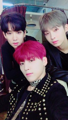 Suhyun, Sangho & Woosung || 161103 Twitter Update