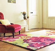 Midsummer Rose Rug