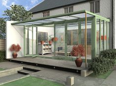 Modern Conservatory | Aluminium Conservatories | Windows | Doors