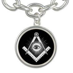 Freemasonry symbol bracelet  $31.15  by igorsin  - cyo customize personalize unique diy