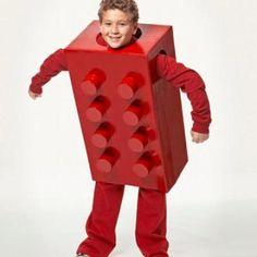 DIY Lego Costume {Homemade Halloween Costumes}