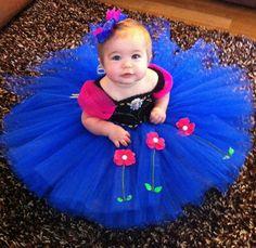 Disney Frozen Princess Anna Tutu Dress by MiniBloomsBoutique