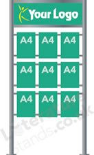 Custom Literature Display Stand C Brochure Stand, Clear Acrylic, Prompts, Literature, Display, Literatura, Floor Space, Billboard