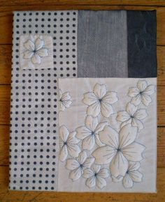 West of the Moon, East of the Sun: Boutis provençal - Trapunto o French Quilting Longarm Quilting, Free Motion Quilting, Machine Quilting, Japanese Quilts, Embroidered Quilts, Flower Quilts, Landscape Quilts, Thread Painting, Button Art