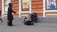 Sergei Ivanovich's instrument case was brimming with money thanks to a stray dog. This duet is music to our ears.