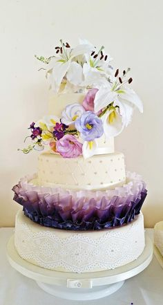 Wedding cake with a twist! - Cake by Ice me a cake