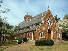 Episcopal Church - historic Gothic Revival church