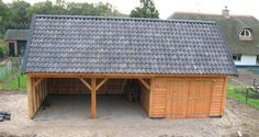 DRENTSE KAPSCHUUR 51 - Schipper Houtbouw - carport/wood shed / shed