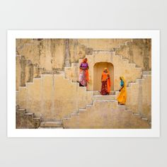 Amber Stepwell, Rajasthan, India - $13