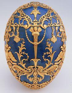 Imperial Czarevich Easter Egg - Henrik Wigstrom for Fabergé,1912