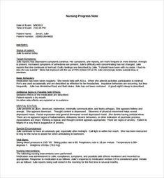 Medical Soap Note Template  Medical Progress Note Template Pdf