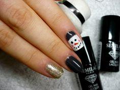 snowman semilac