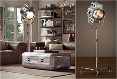 This is ad is for the 1940S HOLLYWOOD STUDIO FLOOR LAMP but the rest of the room is gorg