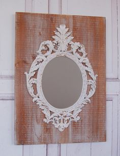 Landhaus Wandspiegel Spiegel BAROCK Shabby 70 cm von Windschief-Living via dawanda.com