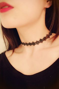 Nueva. Un Ladies Girls Black Velvet /& Verde Oval Colgante Collar Gargantilla