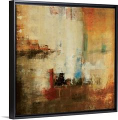 Huge abstract art that utilizes square shapes, Earthy tones and some rough texture. Freeflow Wall Art by Lisa Ridgers is a great way to bring color to your home or office. See more abstract art in all different colors at Great BIG Canvas. Big Canvas Art, Abstract Canvas Art, Canvas Art Prints, Painting Prints, Canvas Wall Art, Fine Art Prints, Framed Prints, Acrylic Paintings, Flow Painting